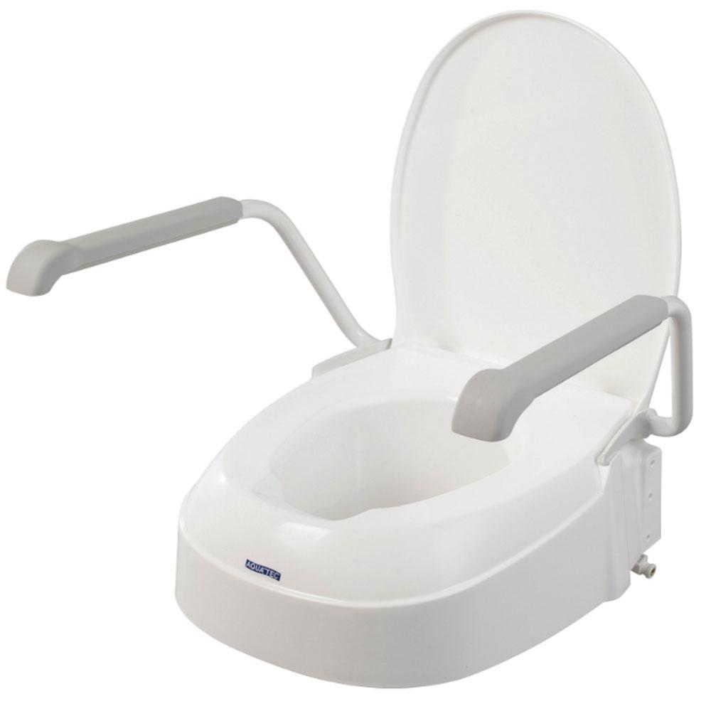 Réhausse wc avec accoudoirs