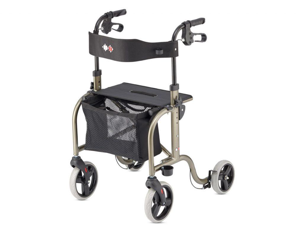 Rollator 4 roues ultra léger