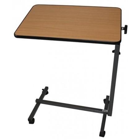 Table de lit plateau hêtre réglable