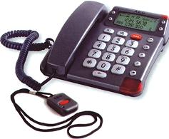 telephone alarme avec pendentif
